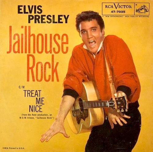 Jailhouse Rock Elvis Presley (Rock-n-Roll)