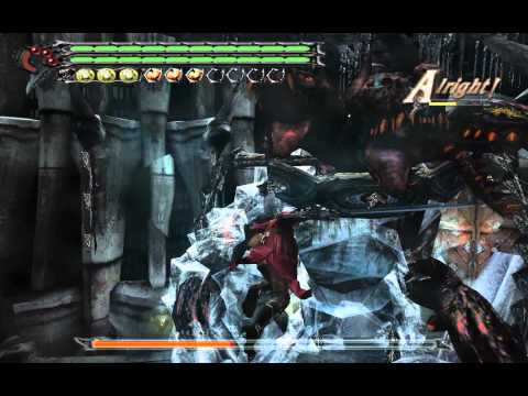 Devil may cry 3 SE  HD PC - Cerberus Battle DMD mode S No damage Mission 3