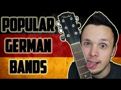 Popular German Bands / Music - Beliebte Deutsche Bands / Musik