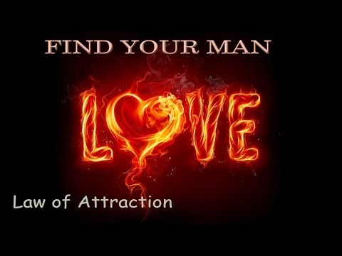 ATTRACT MEN - FIND YOUR SOULMATE with Subliminal Hypnosis | Meditation for love