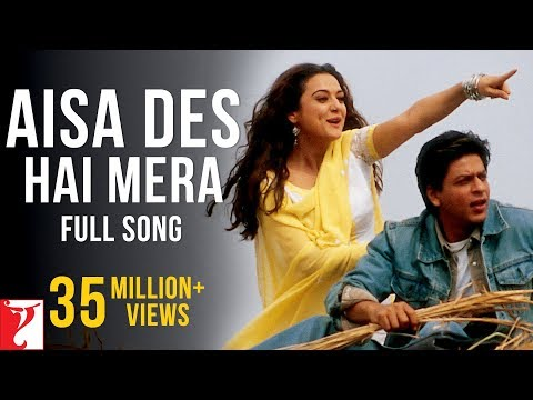 Aisa Des Hai Mera - Song - Veer Zaara (Full-HD 1080p)