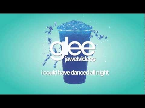 Glee Cast - I Could Have Danced All Night (karaoke version)