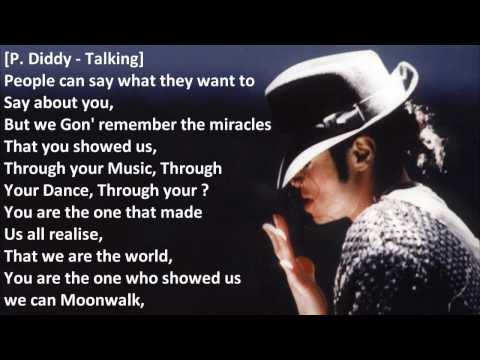 Michael Jackson Tribute: The Game ft. Diddy Chris Brown Boyz II Men - Better On The Other Side