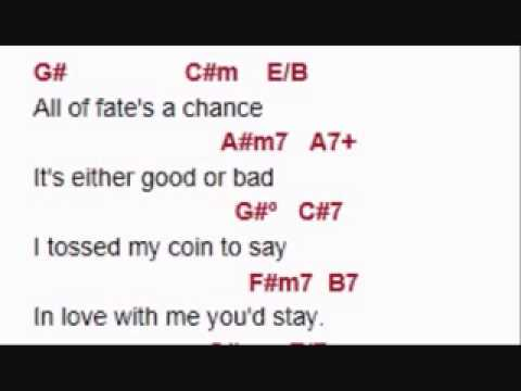 ALL IN LOVE IS FAIR - karaoke
