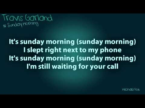 Travis Garland - Sunday Morning