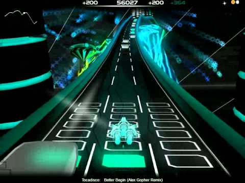 Tocadisco - Better Begin (Alex Gopher Remix) (with lyrics) | Audiosurf