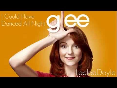 Glee Cast - I Could Have Danced All Night (lyrics)