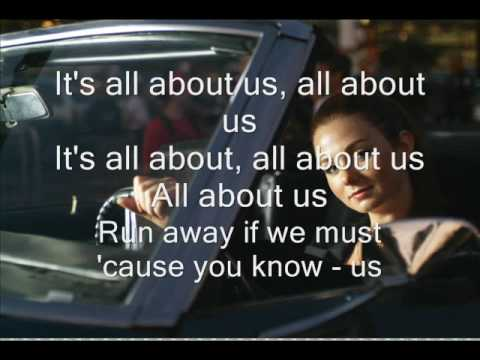 tatu - all about us - instrumental- with lyrics