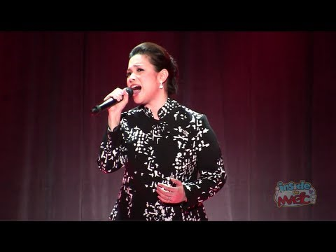 Lea Salonga (voice of Mulan) performs
