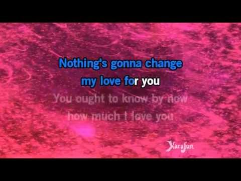 Karaoke Nothing's Gonna Change My Love For You - George Benson *