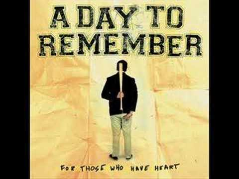 A Day To Remember - Heres To The Past